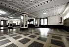 Lobby of 811 Walton Ave, a coop building overlooking Franz Sigel Park.